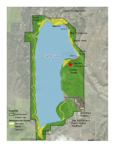 Carter Lake context map