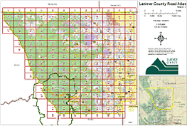 Larimer County OEM Road Atlas