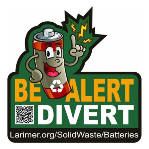 Be alert - divert logo