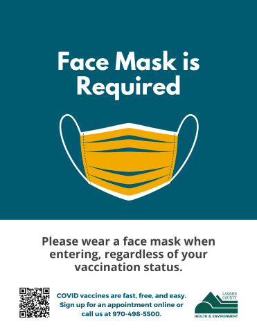Face Mask Required Sign for Businesses