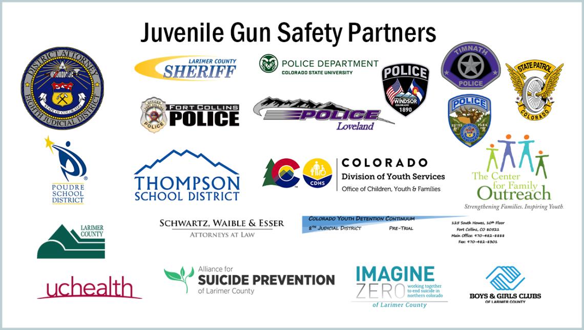 Socios de seguridad de armas juveniles
