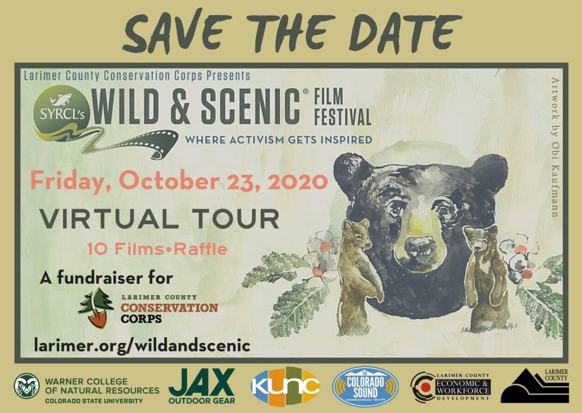 Festival de cine salvaje y escénico 2020 Reserve la fecha