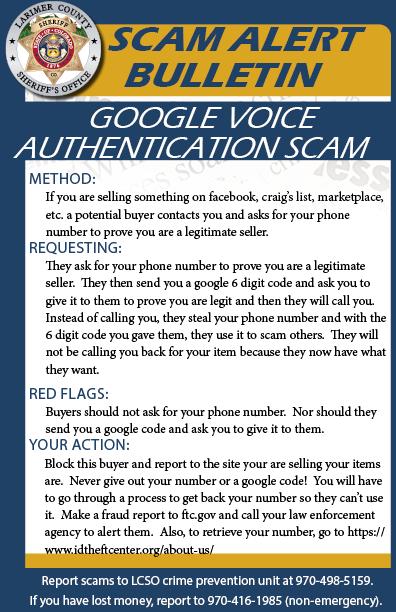 Estafa de autenticación de Google Voice