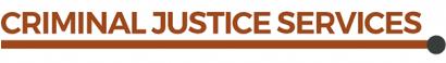 Servicio de justicia penal