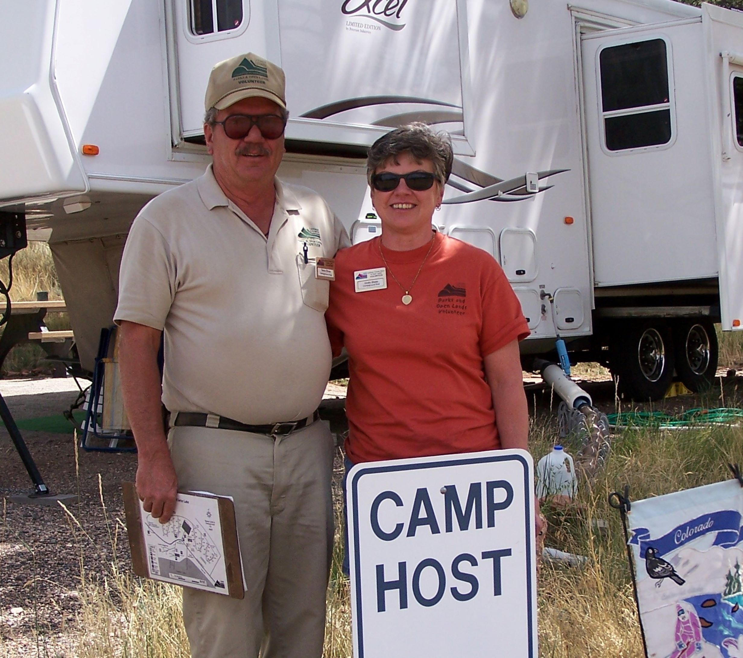Volunteer Campground Host Application link
