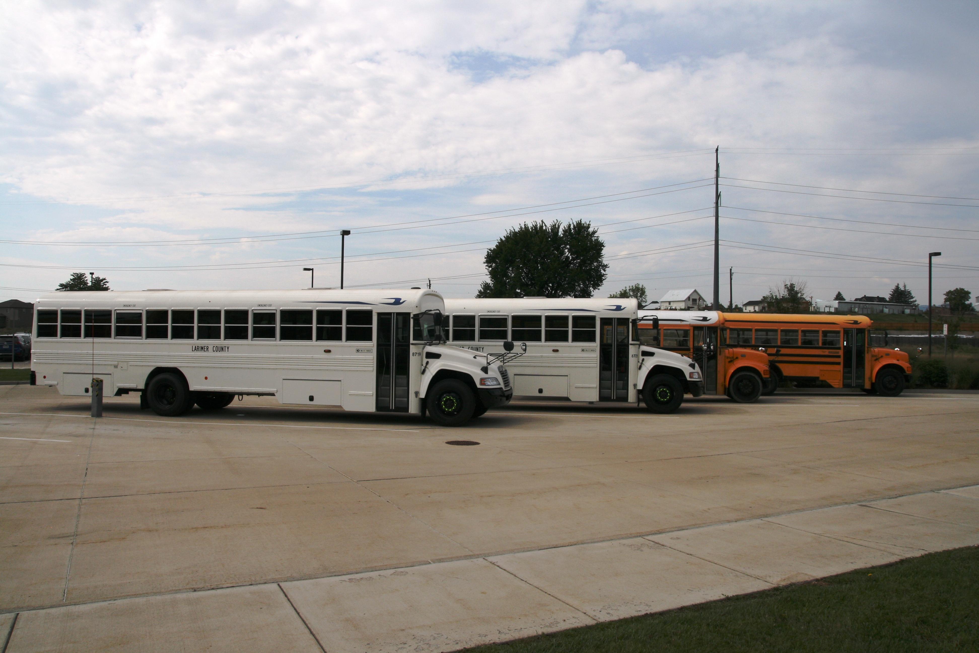 Image 2: Work Crew Buses