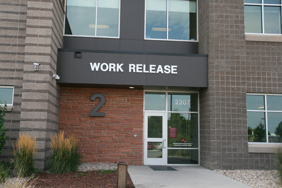 Image 1: Work Release Entrance